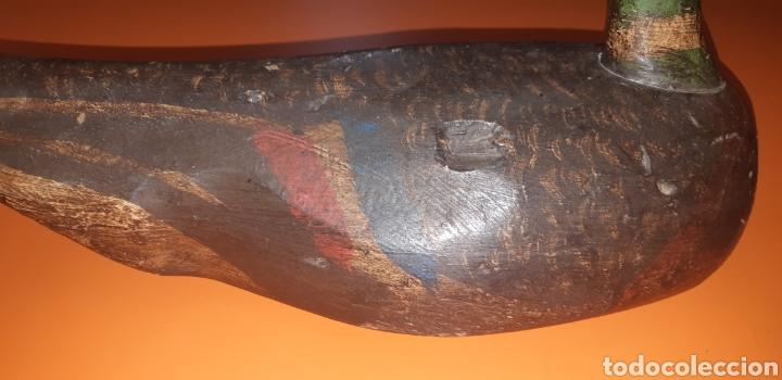 Antigüedades: Pato señuelo ingles mediados sxx - Foto 5 - 268945529