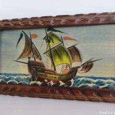 Antigüedades: AZULEJO CATALÁN DE GOLETA. FIRMADO.. Lote 268970224
