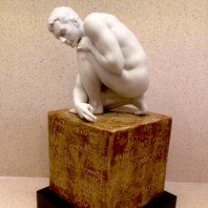 Antiquités: FIGURA ORIGINAL LLADRO TITULADA SCIENTIA , ARTISTA ERNEST MASSUET . HOMBRE DESNUDO. Lote 268980729