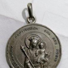 Antigüedades: MEDALLA, ASOCIACION DE HIJAS DE MARIA, BERRIZ, AMAYA DE ISPIZUA, 1949, REDEMPTRIX CAPTIVORUM. Lote 268996514
