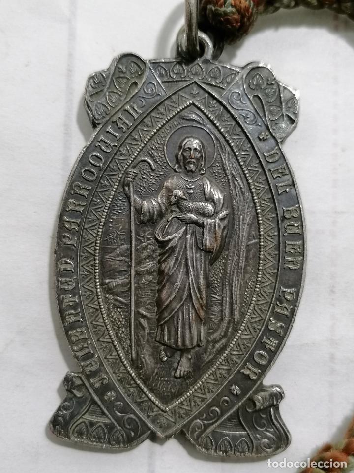 MEDALLA, JUVENTUD PARROQUIAL DEL BUEN PASTOR - OH MADRE INMACULADA ROGAD POR NOSOTROS (Antigüedades - Religiosas - Medallas Antiguas)