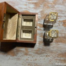 Antigüedades: JUEGO PERFUMERO SIGLO XIX LUJO. Lote 268998769