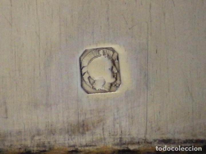 Antigüedades: Copón litúrgico elaborado en plata y metal dorado Hacia 1950. Mide 26,5 cm de altura. - Foto 17 - 269005619