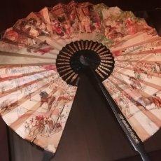 Antigüedades: GRAN ABANICO CIRCULAR RECUERDO DE ESPAÑA.. Lote 269005914