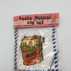 Antigüedades: ANTIGUA BRAGA MUSICAL CON LUZ. Lote 269008379