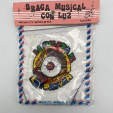 Antigüedades: ANTIGUA BRAGA MUSICAL CON LUZ. Lote 269008914