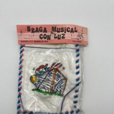 Antigüedades: ANTIGUA BRAGA MUSICAL CON LUZ. Lote 269009079