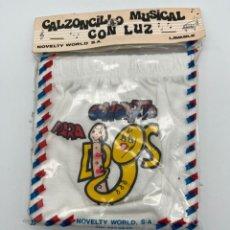 Antigüedades: ANTIGUO CANZONCILLO MUSICAL CON LUZ. Lote 269009319