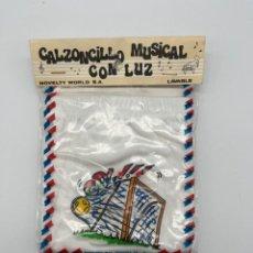 Antigüedades: ANTIGUO CANZONCILLO MUSICAL CON LUZ. Lote 269009479
