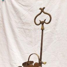Antigüedades: ANTIGUA LÁMPARA DE ACEITE LUMINERA LLUMINERA CANDIL DE CUATRO BRAZOS. Lote 269012064