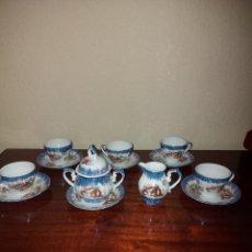 Antigüedades: ANTIGUO JUEGO DE CAFÉ JAPONÉS. Lote 269014689