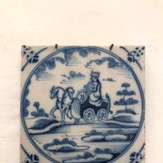Antigüedades: AZULEJO DE DELFT SIGLO XVIII. Lote 269050288
