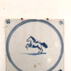 Antigüedades: AZULEJO DE DELFT SIGLO XVIII.. Lote 269051223