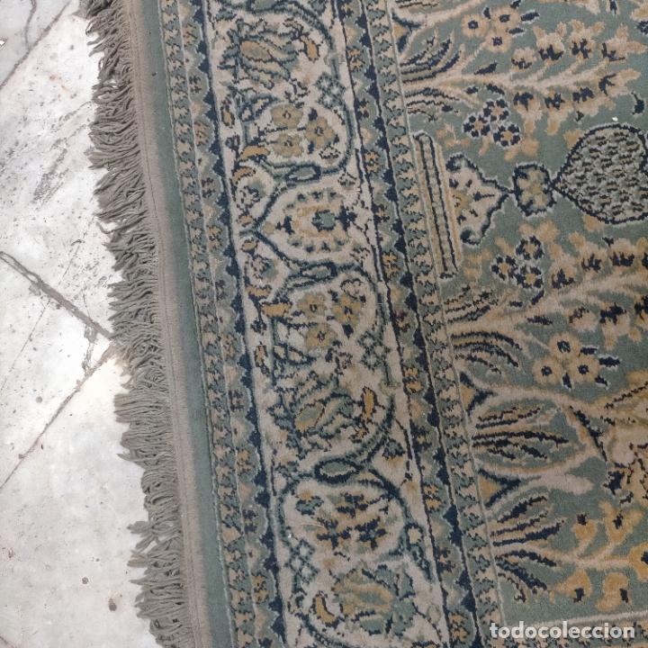 Antigüedades: gran alfombra 158 x 125 cm ideal capilla virgen besamanos cofradia semana santa altar - Foto 6 - 269071503