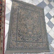 Antigüedades: GRAN ALFOMBRA 158 X 125 CM IDEAL CAPILLA VIRGEN BESAMANOS COFRADIA SEMANA SANTA ALTAR. Lote 269071503