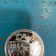 Antigüedades: MONEDA DE PLATA DE LEY . 10 EURO. Lote 269128853