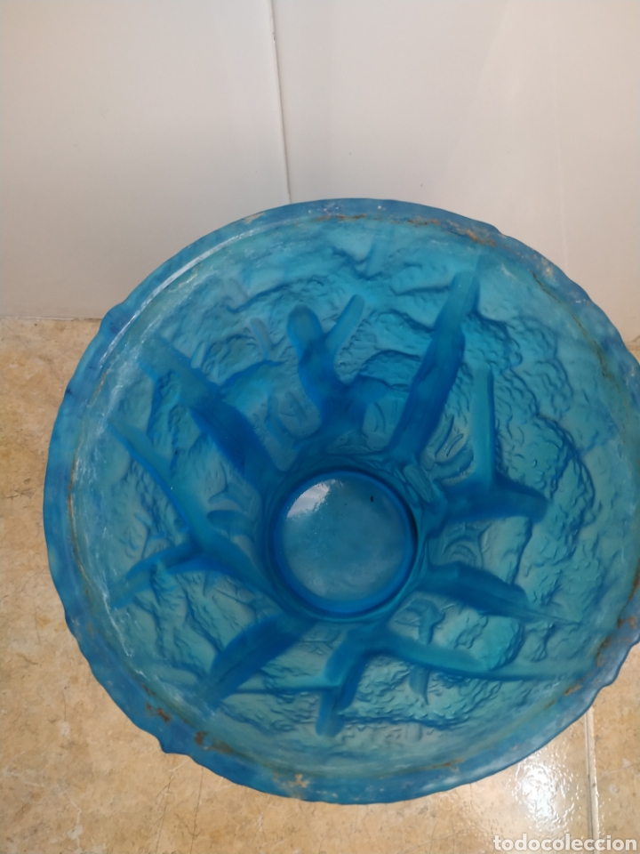 Antigüedades: GRAN JARRÓN CRISTAL ART DECO BAROLAC, JOSEF INWALD, LALIQUE, CHAMPANERA - Foto 6 - 269130108