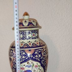 Antigüedades: TIBUR ANTIGUO PORCELANA JAPONESA. Lote 269172058