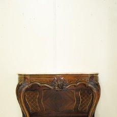 Antigüedades: CONSOLA ANTIGUA MADERA DE NOGAL. Lote 269187890