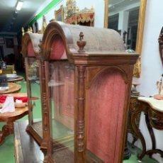 Antigüedades: ELEGANTE URNA FRANCESA PARA FIGURA. Lote 269194543