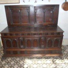 Antigüedades: ARCÓN NOVIA ANTIGUO CON FRONTAL. Lote 269230598