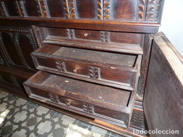 Antigüedades: ARCÓN NOVIA ANTIGUO CON FRONTAL - Foto 4 - 269230598