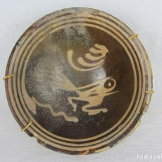 Antigüedades: BOL EN LOZA POPULAR DE LA FÁBRICA DE CAN FAIÓ, GIRONA, DEL SIGLO XVIII. Lote 269230848