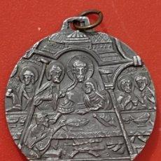 Antigüedades: MEDALLA 1964 LEON VI CONGRESO EUCARISTICO NACIONAL VT SINT VNVM 3,5 CMS ALUMINIO. Lote 269251798