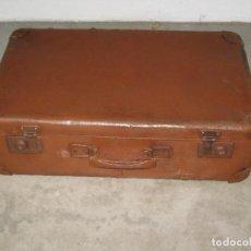 Antigüedades: ANTIGUA MALETA DE CARTON PRENSADO. Lote 269273523