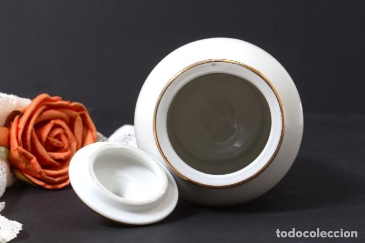 Antigüedades: Pequeño albarelo vintage de Dentijuste porcelana Santa Clara - Foto 6 - 269279838
