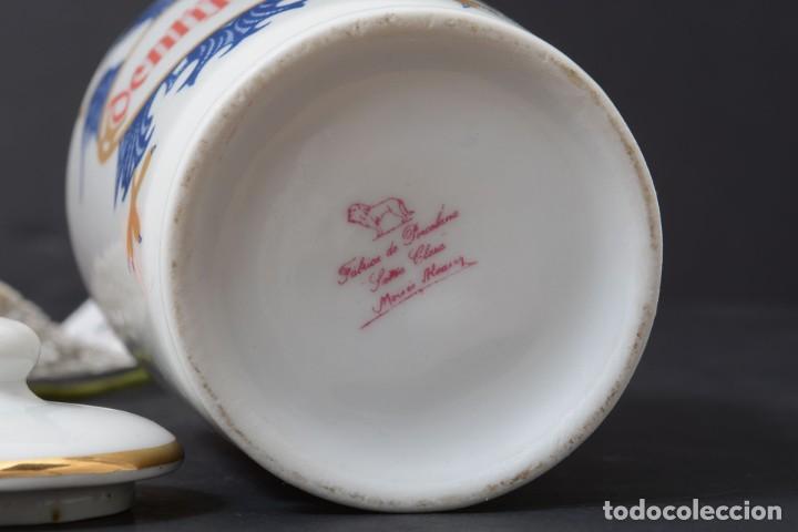 Antigüedades: Pequeño albarelo vintage de Dentijuste porcelana Santa Clara - Foto 8 - 269279838
