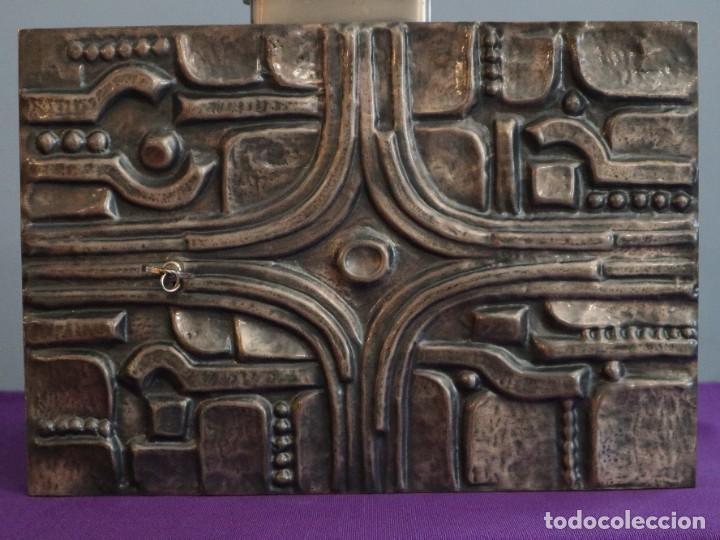 Antigüedades: Sagrario elaborado en metal plateado y metal dorado. Tercer cuarto del siglo XX. - Foto 6 - 269316413