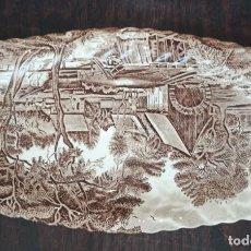 Antigüedades: ANTIGUA FUENTE PORCELAN JHONSON BROTHERS WATERMILL ENGLAND. Lote 269325708