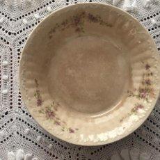Antigüedades: CUENCO DE LOZA DE SAN JUAN DE AZNALFARACHE? SEVILLA. Lote 269335873