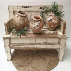 Antigüedades: BANCO DE IGLESIA PORTUGUÉS. Lote 269442158