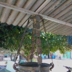 Antigüedades: ANTIGUA LAMPARA VOTIVA. Lote 269442648