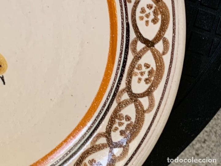 Antigüedades: 2 PLATOS CERAMICA CERAMICHE NICOLA FASANO MADE IN ITALY GROTAGLIE 3X18CMS - Foto 12 - 269467908