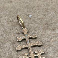 Antigüedades: CRUZ DE PLATA. Lote 269473583