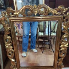 Antigüedades: CORNO COPIA DE PAN DE ORO AÑOS 50 BUEN ESTADO. Lote 269478358