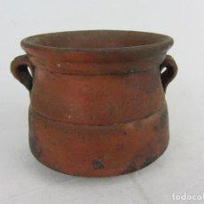 Antigüedades: PEQUEÑA OLLA - TUPÍ - EN CERÁMICA POPULAR DEL SIGLO XIX. Lote 269583988