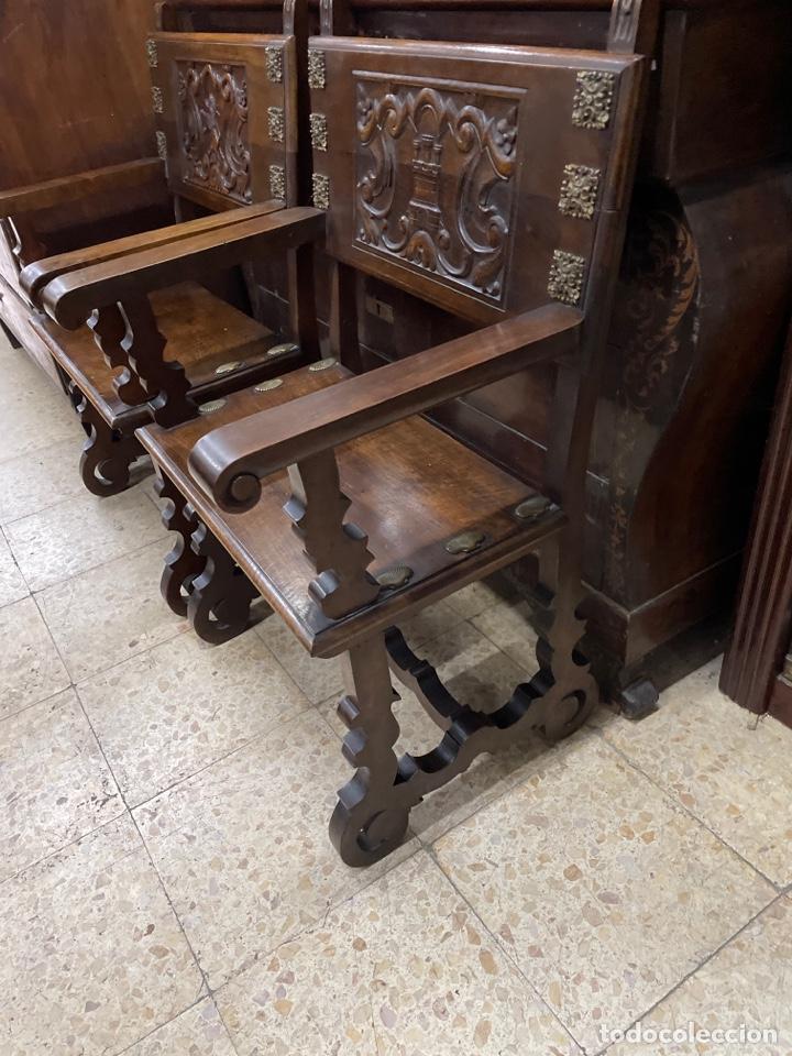 Antigüedades: Pareja de sillones. - Foto 3 - 269584303