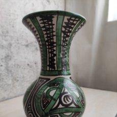 Antigüedades: JARRÓN CERÁMICAS PUNTEL. Lote 269619563