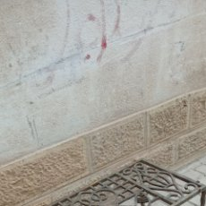 Antigüedades: MESA ANTIGUA DE FORJA. Lote 269646618