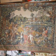 Antigüedades: TAPIZ ESTILO SIGLO XVI L'POINT DE HALLUIN CHARLES QUINT FRACIA. Lote 269690798