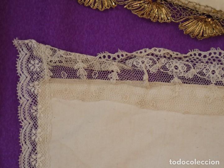 Antigüedades: Conjunto de cuatro capas para imágenes de vestir o cap i pota. S. XVIII-XIX. - Foto 10 - 269747893