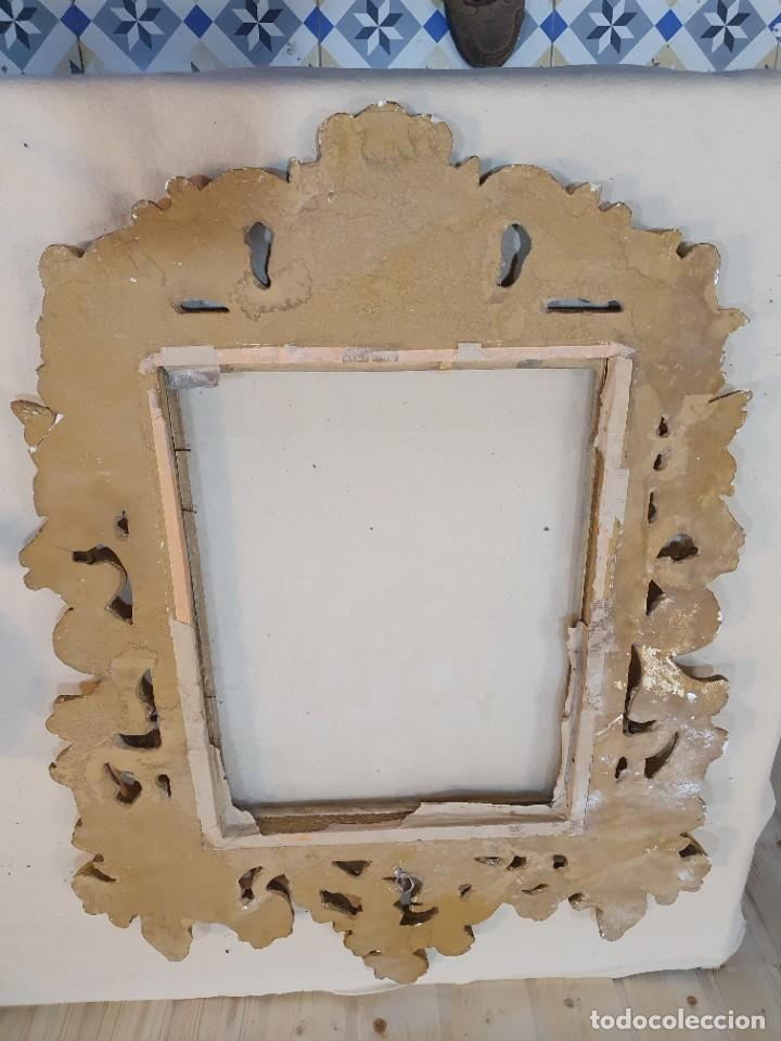 Antigüedades: CORNUCOPIA EN PAN DE ORO - Foto 4 - 269769313