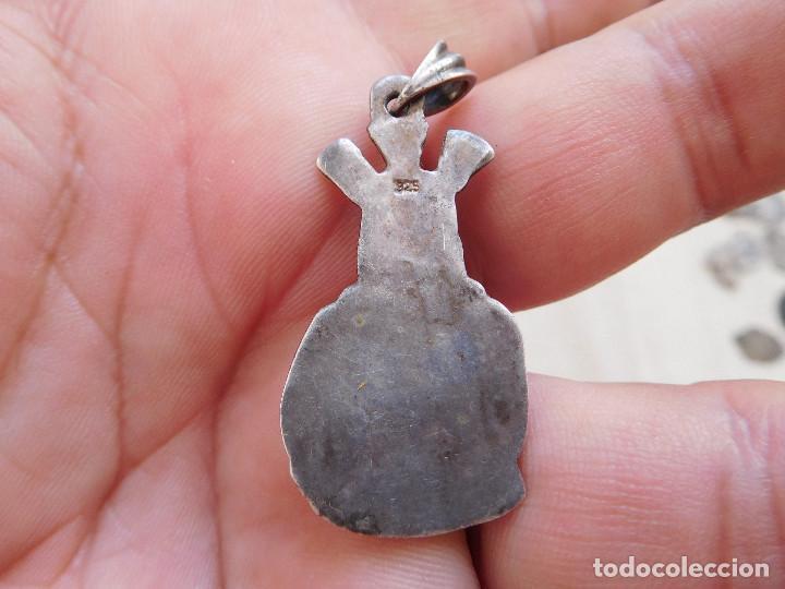 Antigüedades: Medalla de plata Jesucristo nazareno? - Foto 3 - 269810543