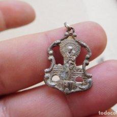 Antigüedades: MEDALLA DE PLATA CALADA N.S. DEL PILAR ZARAGOZA. Lote 269811248