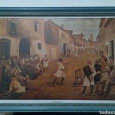 Antigüedades: CUADRO. JOSE BRU VALENCIA AÑO 1881/37CM/ 26CM. Lote 269830878