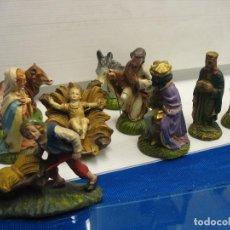 Antigüedades: PESEBRE ITALIANO LA NATIVIDAD. Lote 269954283